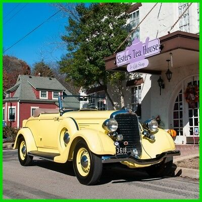 1934 Dodge Model DR Convertible Coupe 1934 Dodge Model DR Convertible Coupe