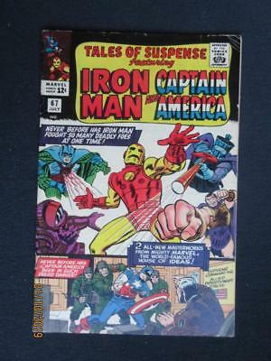 Tales of Suspense #67 MARVEL 1965 - Captain America, Iron Man, Stan Lee!
