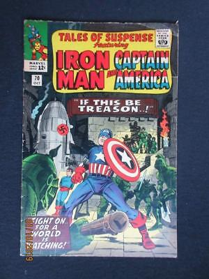 Tales of Suspense #70 MARVEL 1965 - Captain America, Iron Man, Stan Lee!