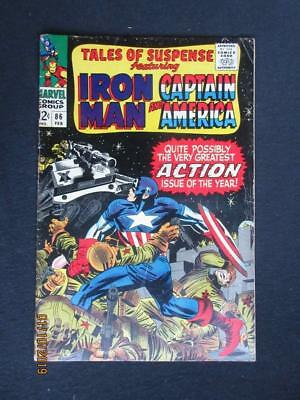 Tales of Suspense #86 MARVEL 1967 - Iron Man, Captain America, Stan Lee!
