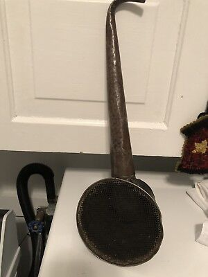 Antique  ear trumpet device With Photo of Owner