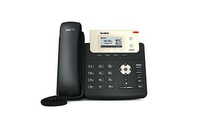 Lot of (5) Refurbished Yealink SIP-T21P Entry Level IP Phone with PoE