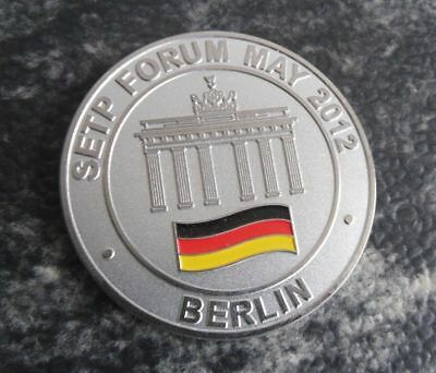 Challenge Coin - Setp Forum May 2012 Berlin - U.s. Army