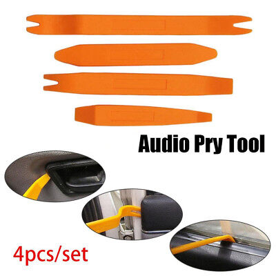 4Pcs Audio Installer Car Removal Open Tools Door Clip Kit Panel Radio Trim Dash
