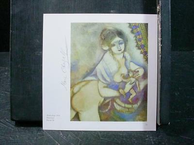 "NobleSpirit NO RESERVE {3970}Print of ""Maternidade"" Signed by Marc Chagall"