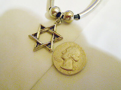 bling pewter 6 point star myth WITCH RITE FASHION pendant charm necklace JEWELRY