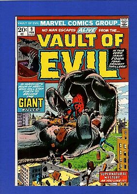 Vault Of Evil #9 Nm- 9.2 High Grade Bronze Age Marvel Horror