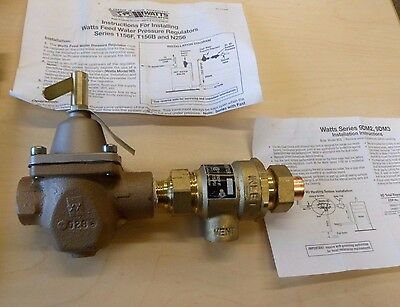 "Watts Boiler Backflow Preventer Series 1/2"" 911S - 0386461"
