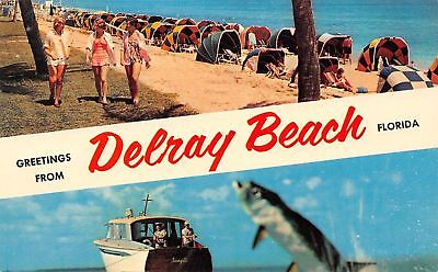 C13-3873, Greetings From, Delray Beach, Fl
