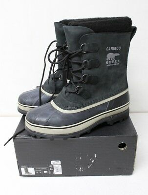 Sorel Caribou Black, Tusk Men's Waterproof Winter Boots Size 13 US New READ AD!