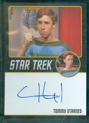 Star Trek Original Series 50th Anniversary Craig Huxley as Tommy Auto Card