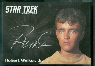 Star Trek Original Series 50th Anniversary Robert Walker as Charlie Auto Card