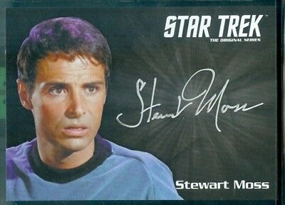Star Trek Original Series 50th Anniversary Stewart Moss as Joe Tormole Auto Card