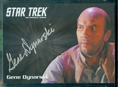 Star Trek Original Series 50th Anniversary Gene Dynarski as Ben Childr Auto Card