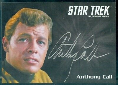Star Trek Original Series 50th Anniversary Anthony Call as Dave Bailey Auto Card