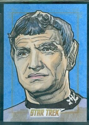 Star Trek Original Series 50th Anniversary Sketch Card