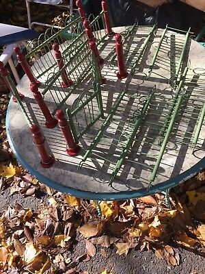 Old Christmas Tree Fence Made in Germany