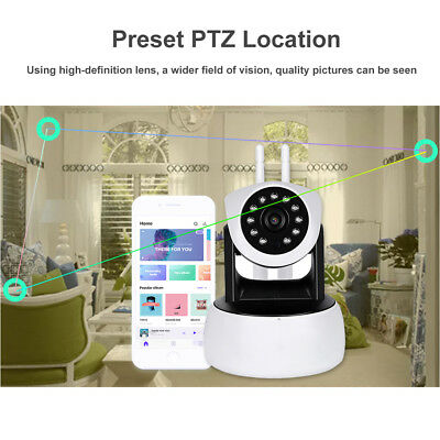 1080P Digital Wireless Baby Monitor Camera Night Security Wifi Vision HD Video P