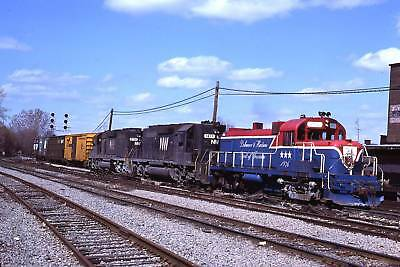 D&H Delaware & Hudson RS3u 1976 s/b Schenectady New York 1978