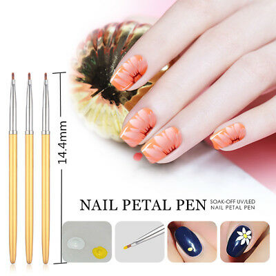 Ellwings Nail Art Tools Painting Flower Pen DIY Carving Manicure Drawing Design