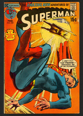 Superman #234 - Neal Adams Cover - DC Comics (1971) - Fine+