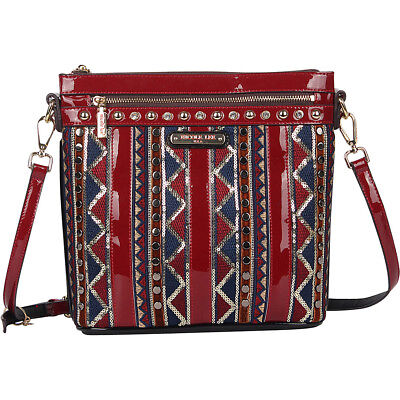 Nicole Lee Bliss Boho Crossbody - Black Cross-Body Bag NEW