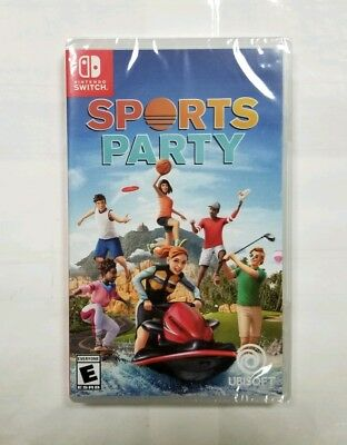 """Sports Party (Nintendo Switch, 2018) """"NEW/SEALED"""""""