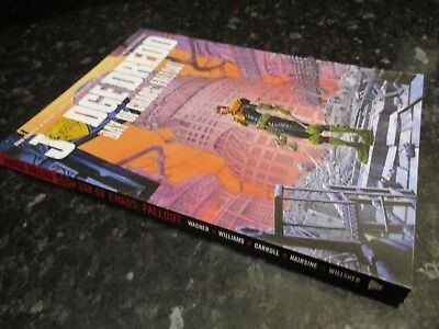 judge dredd graphic novel day of chaos fallout