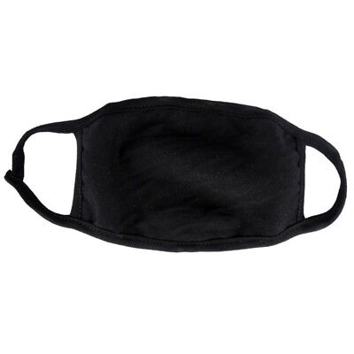 Unisex Fashion Outdoor Mouth Anti-Dust Face Mask  Black Surgical Respirator Mask