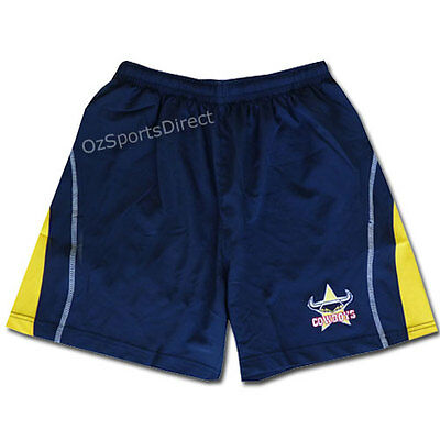 NRL North Queensland Cowboys Classic Core Training Shorts - SMALL