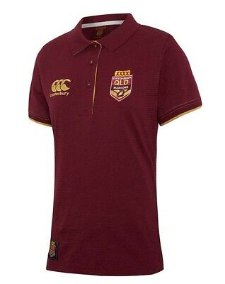 QLD Maroons State of Origin Classic Polo - LADIES  Sizes 8 - 16  **SALE PRICE**