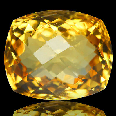 6.24 Ct Ct DAZZLING! NICE GRADE GENUINE NATURAL GOLDEN YELLOW CITRINE
