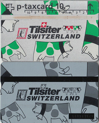 Suisse - Phone Card - Taxcard Privée  *** Fromage - Tilsiter Vert ***