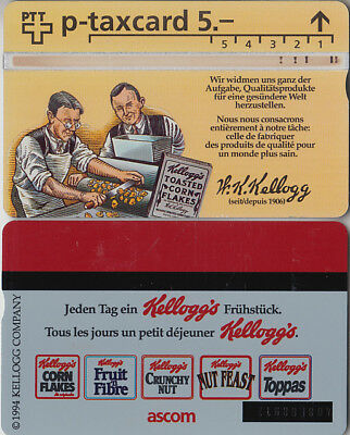 Suisse - Phone Card - Taxcard Privée  *** Kellogg's ***