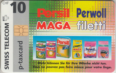 Suisse - Phone Card - Taxcard Privée  *** Persil & Perwoll ***