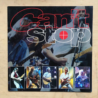 Status Quo Can't Stop Programme 1997 Lp Sized Glossy Colour Booklet Uk