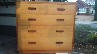 Original 1983 Army & Navy  Stamped  Chest Of Drawers