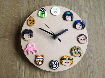Mighty Boosh Clock Handmade Clock Old Gregg Hitcher Wall Clock Gift Idea