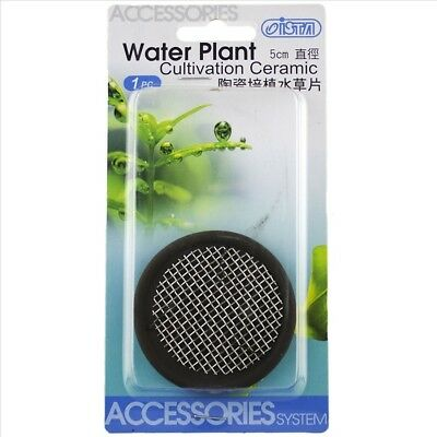 ISTA Aquarium Plant Cultivation Ceramic Wire Mesh Round 5cm Anchor Java Moss
