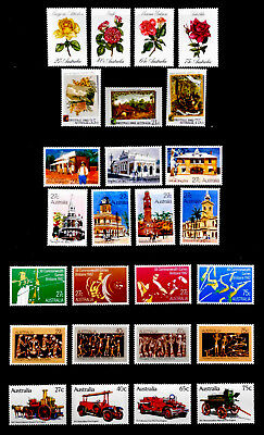 Australia: 1982-83 Mint Never Hinged Stamp Collection Of 6 Complete Sets