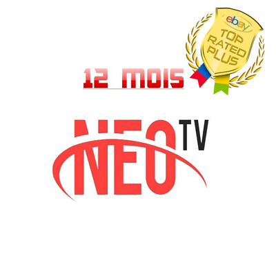 NEO iptv Pro 2 ABONNEMENT 12 mois,smart Iptv, android TV box, mag,H265,m3u