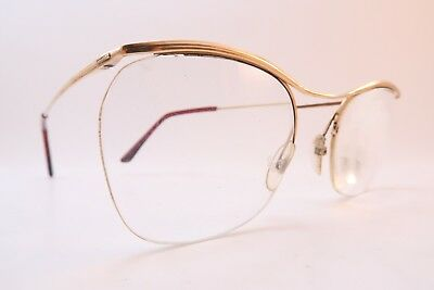 Vintage 50s eyeglasses frames gold filled NYLOR ESSEL supra made in France