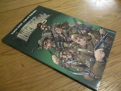 adventures in the rifle brigade  graphic novel   paperback garth ennis