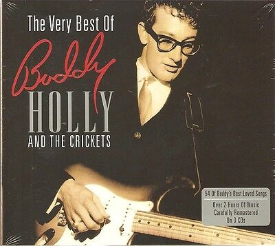 The Very Best Of Buddy Holly And The Crickets 3 Cd Set