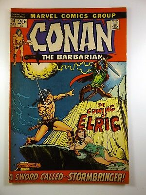 "Conan The Barbarian #14 ""The Coming of Elric!"" Stormbringer!! Fine Condition!!"