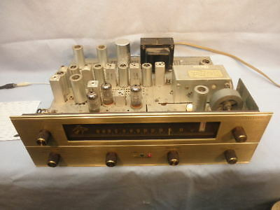 Exceptional1963 Fisher Fm-202-B Stereophonic Tube Tuner Nr