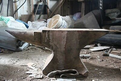 Old Blacksmith anvil- heavy- collection only- cash only
