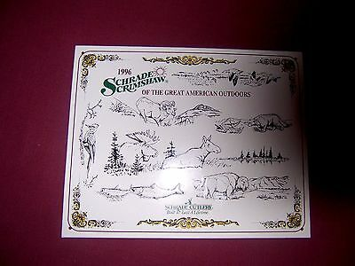 man cave cool vtg  new metal sign  schrade knife factory  fish & hunting