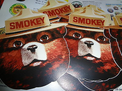 "Smokey's Face  Vinyl. 13""  Face Sticker. **stickem Up .**"