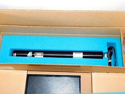 UNIPHASE 1135-P HELIUM NEON LASER w/ 1216-1 POWER SUPPLY ~ WORKS ~ NEW; NOS (?)